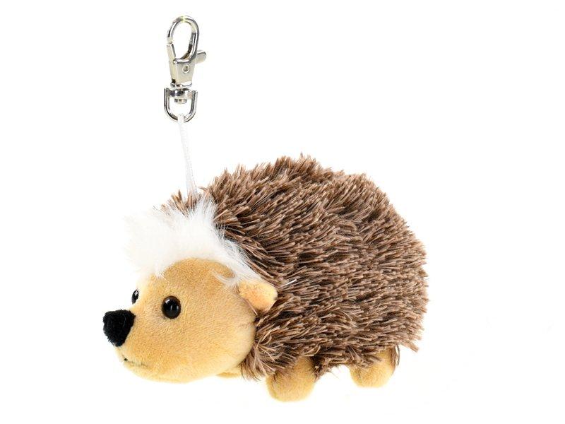Přívěsek na klíče ježek plyšový 14 cm