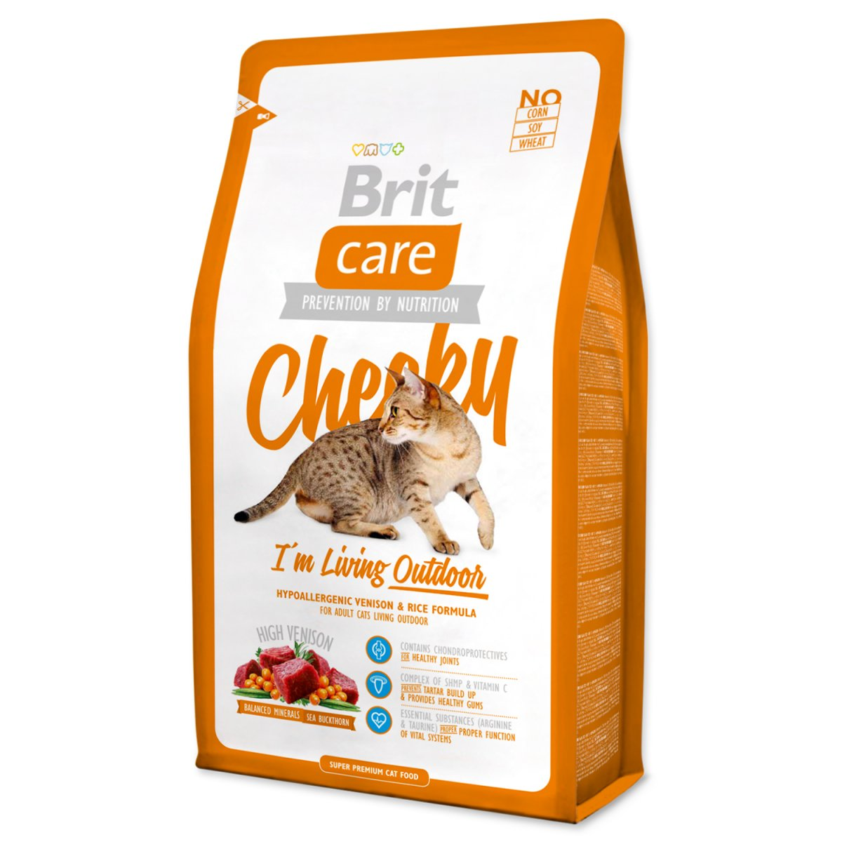 BRIT Care Cat Cheeky I`m Living Outdoor (2kg)