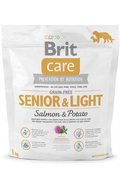 BRIT Care Grain-free Senior & Light Salmon & Potato (1kg)