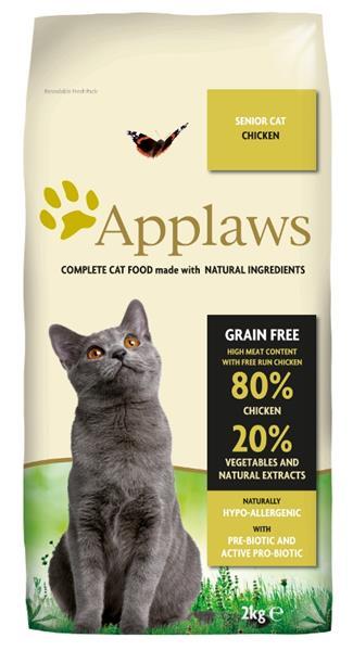 APPLAWS Dry Cat Senior (2kg)