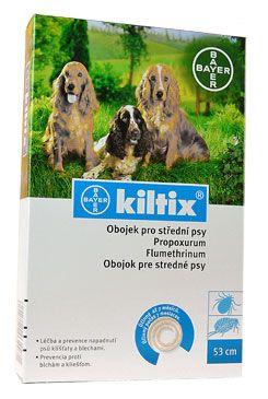 Kiltix obojek pro střední psy obojek 53cm 1 ks