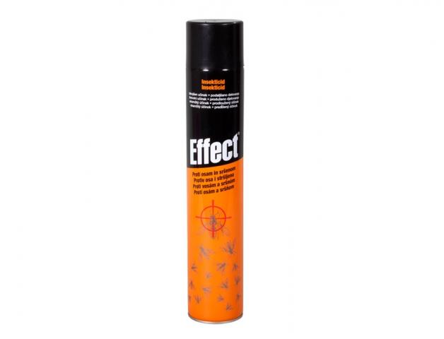 sprej proti vosám a sršňům, insekticid EFFECT, 400ml aerosol