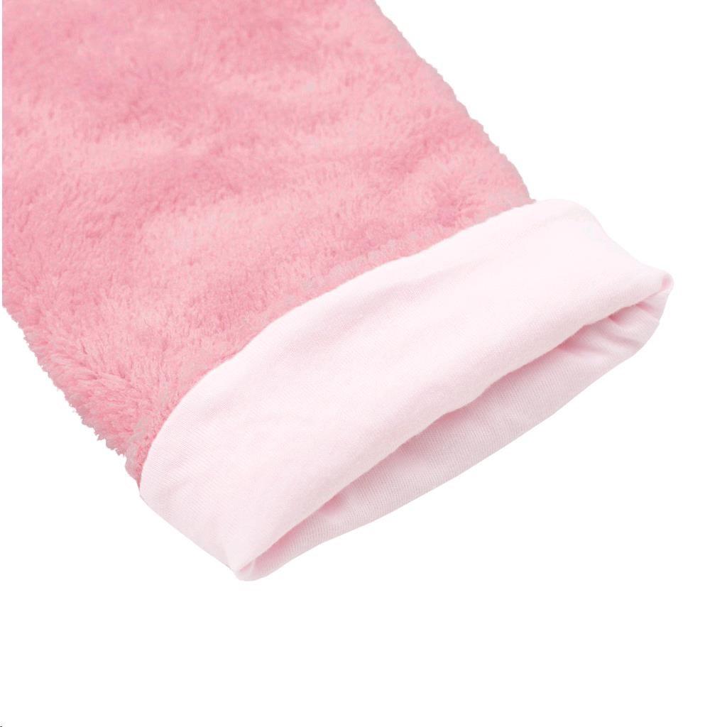 Zimní dětské tepláčky New Baby Penguin růžové - 62 (3-6m)