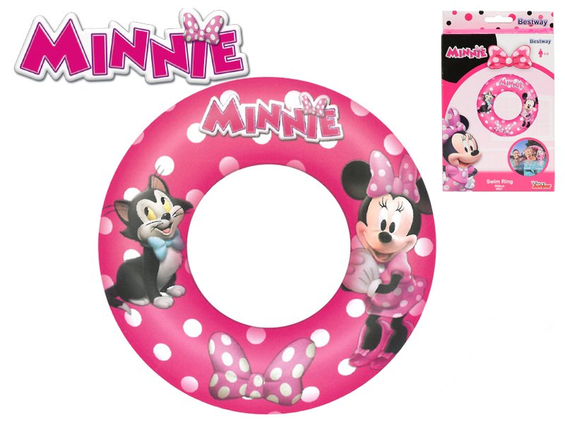 Nafukovací kruh - Minnie, průměr 56 cm