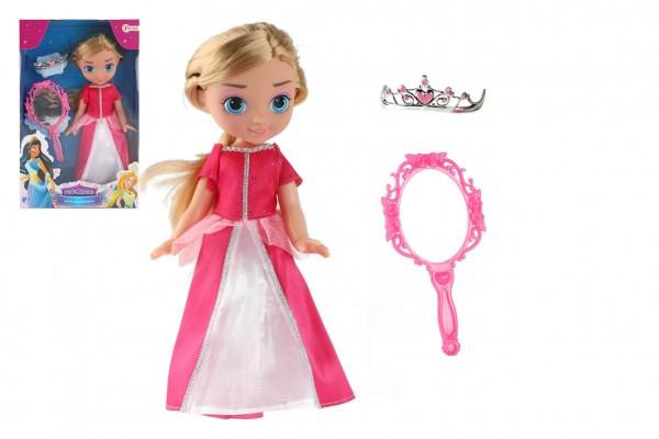 Panenka princezna s doplňky plast 28cm