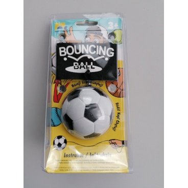 Mac Toys Míček na gumičce - fotbal