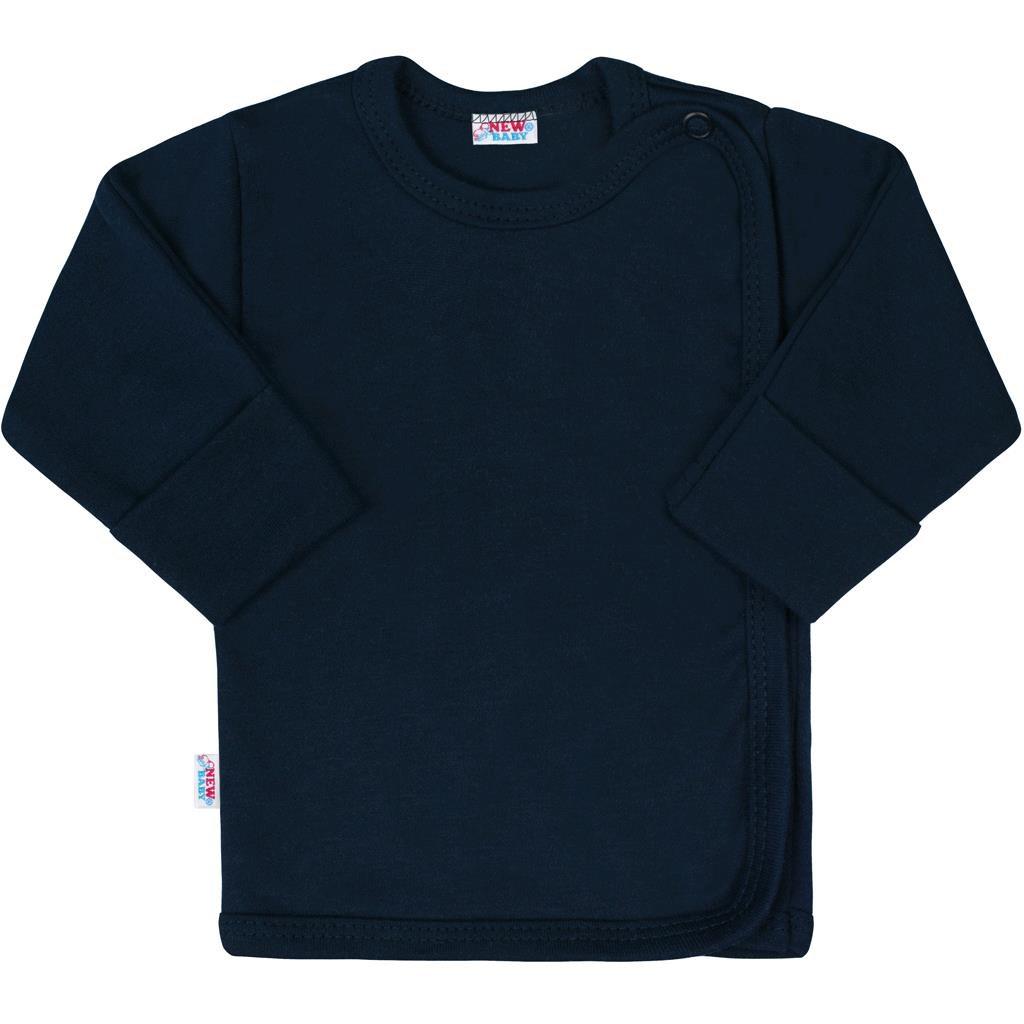 Kojenecká košilka New Baby Classic II tmavě modrá - 56 (0-3m)