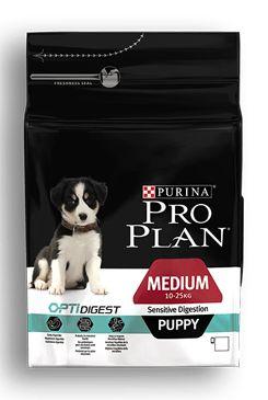 ProPlan Dog Puppy Medium Optidigest jehněčí 3kg