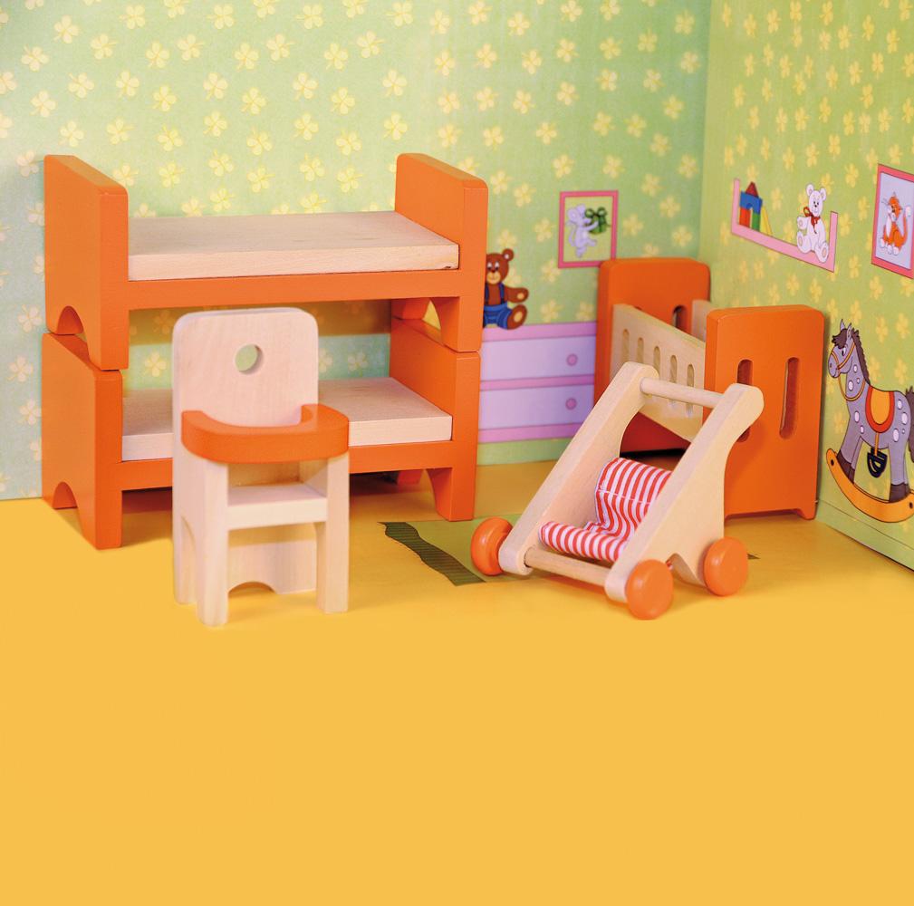 Nábytek do domečku Dětský pokoj