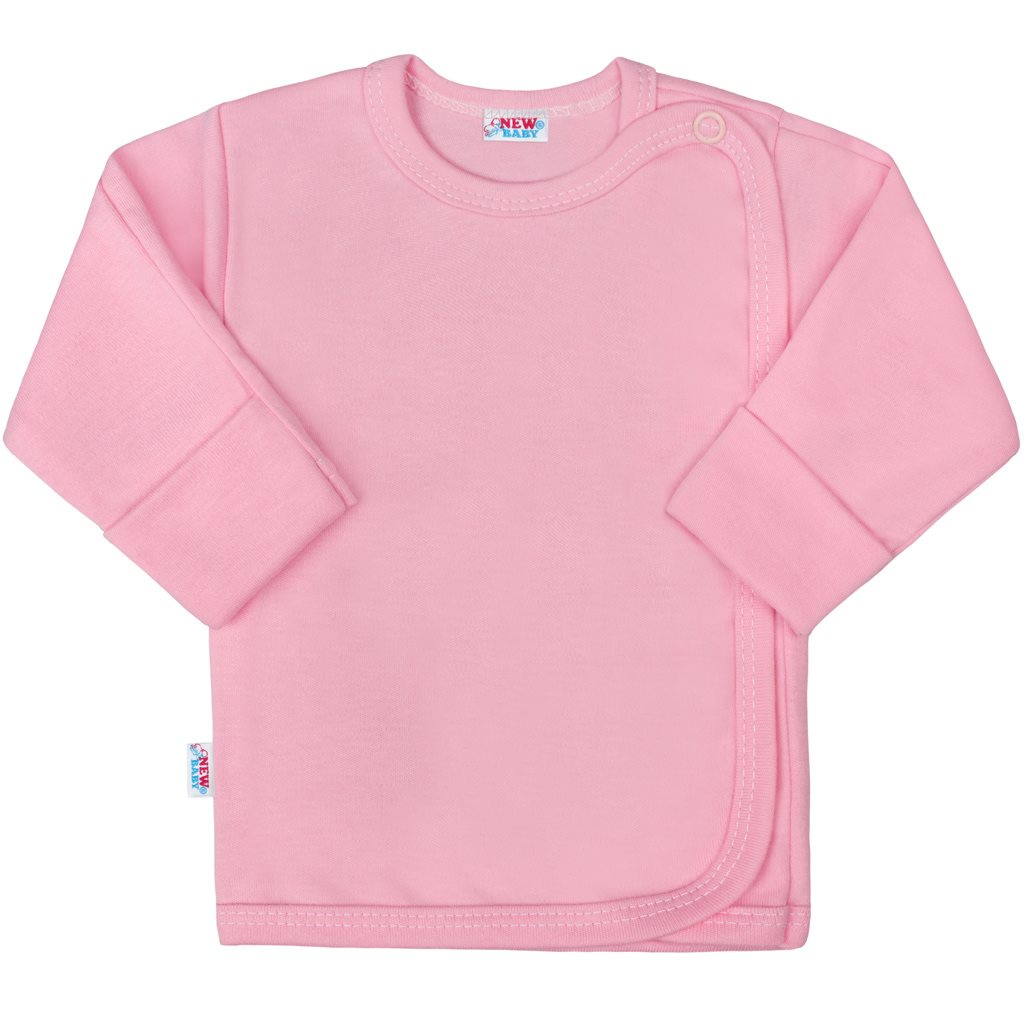 Kojenecká košilka New Baby Classic II růžová - 56 (0-3m)