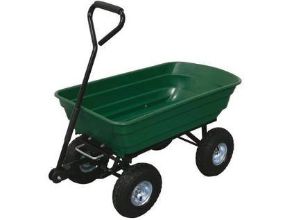 vozík zahradní sklápěcí 125l, korba 124,5x66x30,5cm