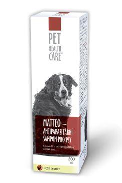 Šampon MATTEO antiparazit. pro psy 200ml PHC