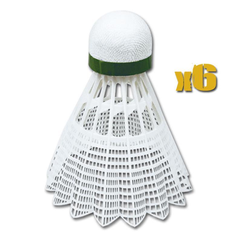 Spokey Air Tec míčky na badminton 6ks nylonové