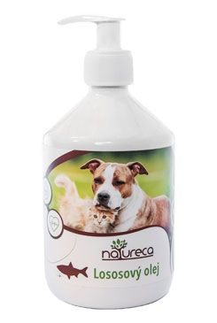 NATURECA Lososový olej 100% 500ml