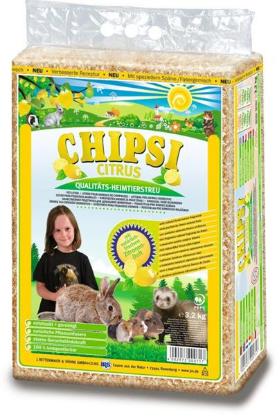 Hobliny JRS Chipsi citrus (3,2kg)