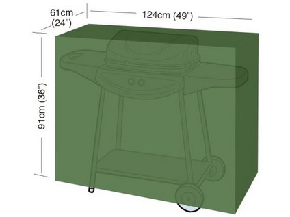 "plachta krycí na gril CLASSIC ""M"" 124x61x91cm, PE 90g/m2"