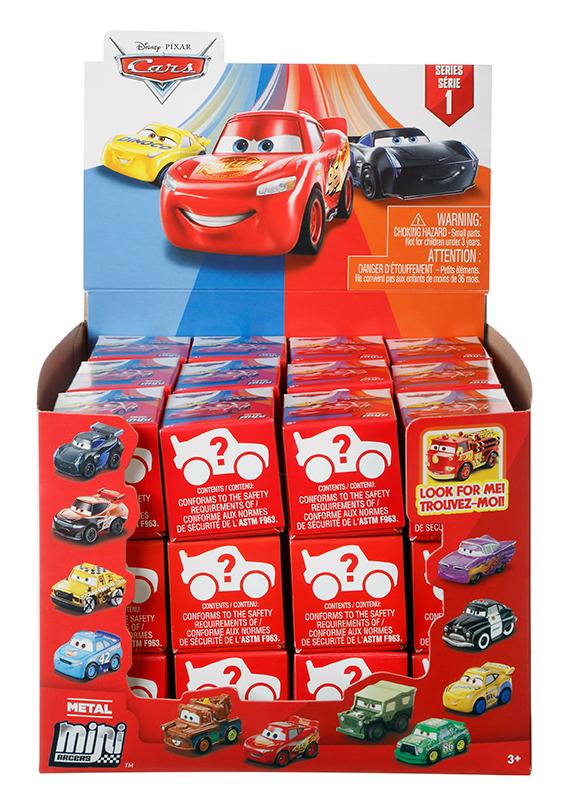Mattel Cars 3 mini auta - překvapení