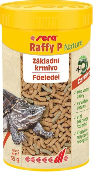 Sera Raffy P Nature - plaz 250 ml