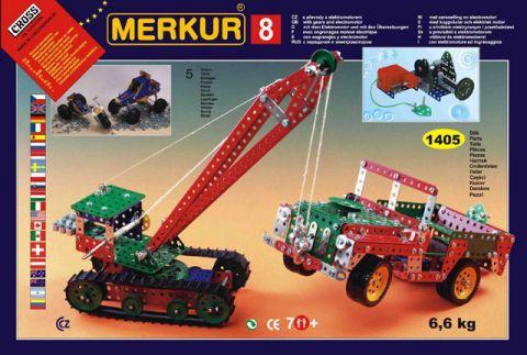 Stavebnice Merkur - Big set 8