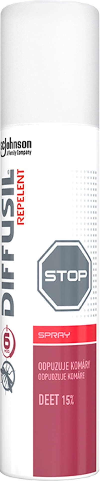 Diffusil - Basic repelent sprej 100 ml