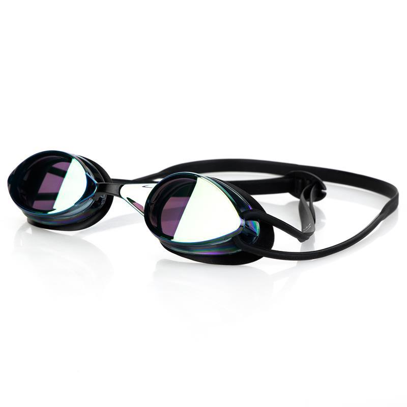 Spokey SPARKI Plavecké brýle, černé, zrcadlová skla
