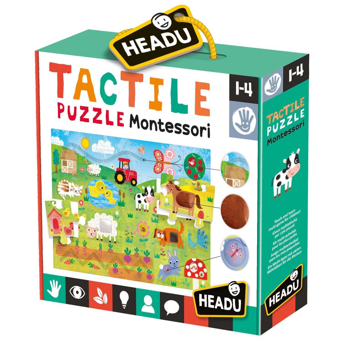 HEADU: Montessori hmatové puzzle