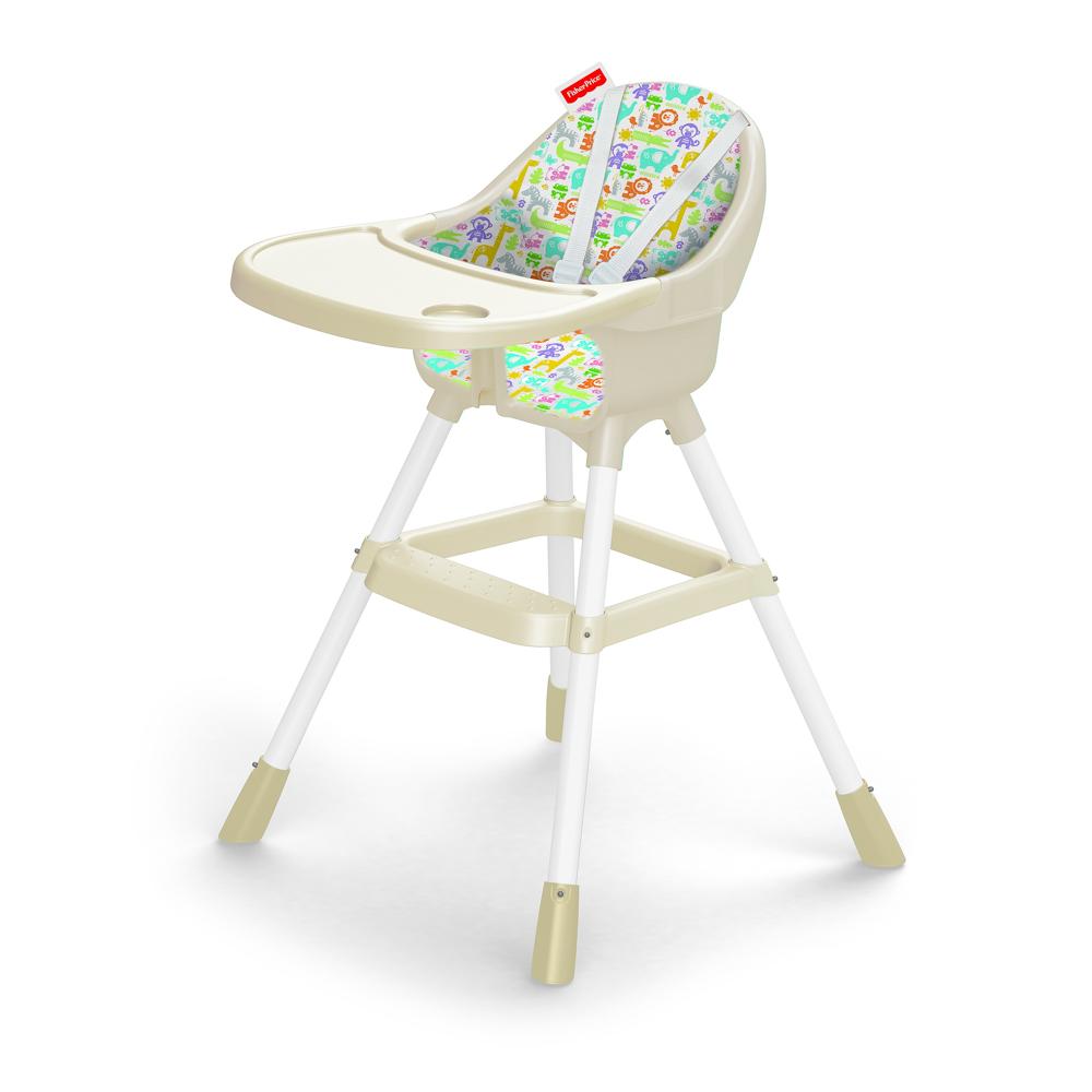 Dětská jídelní židlička bílá, Fisher Price