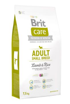 BRIT Care Dog Adult Small Breed Lamb & Rice (7,5kg)