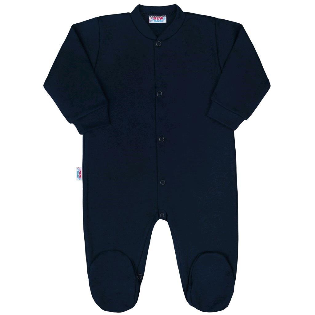 Kojenecký overal New Baby Classic II tmavě modrý - 56 (0-3m)