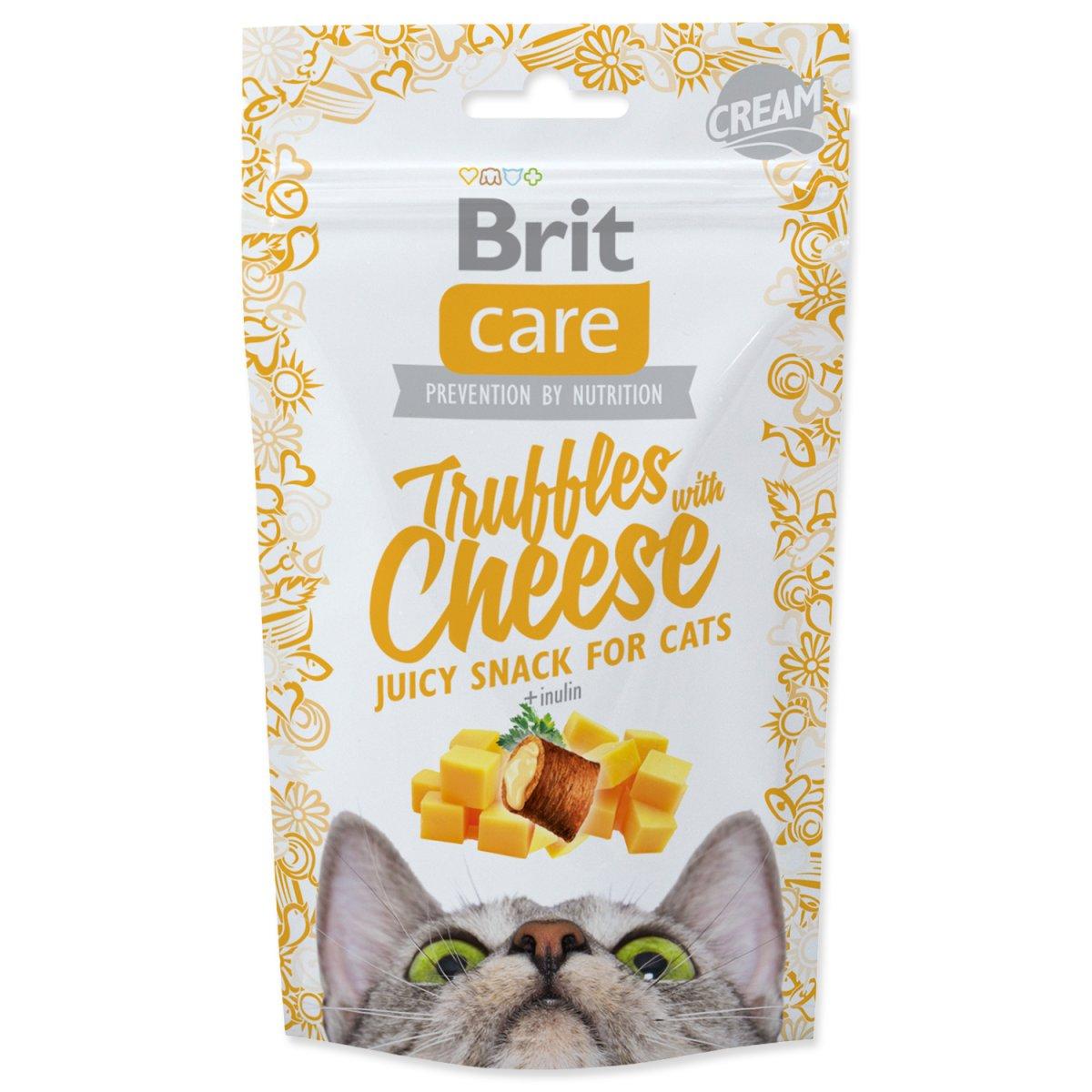 BRIT Care Cat Snack Truffles Cheese (50g)