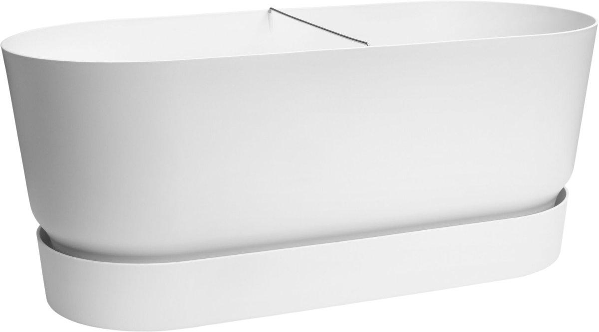 Elho truhlík Greenville Terrace - white 80 cm