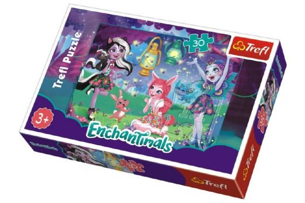 Puzzle Enchantimals 30 dílků