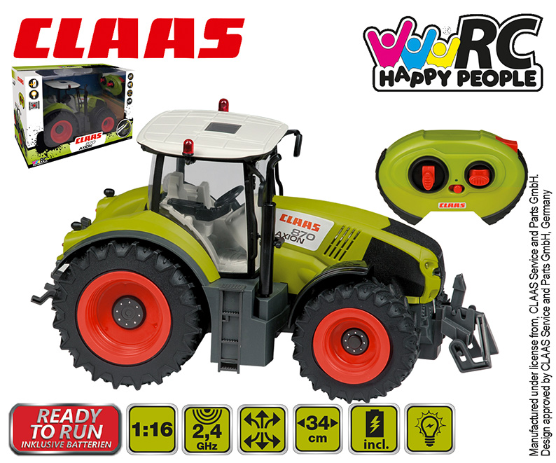HAPPY PEOPLE RC Traktor CLAAS