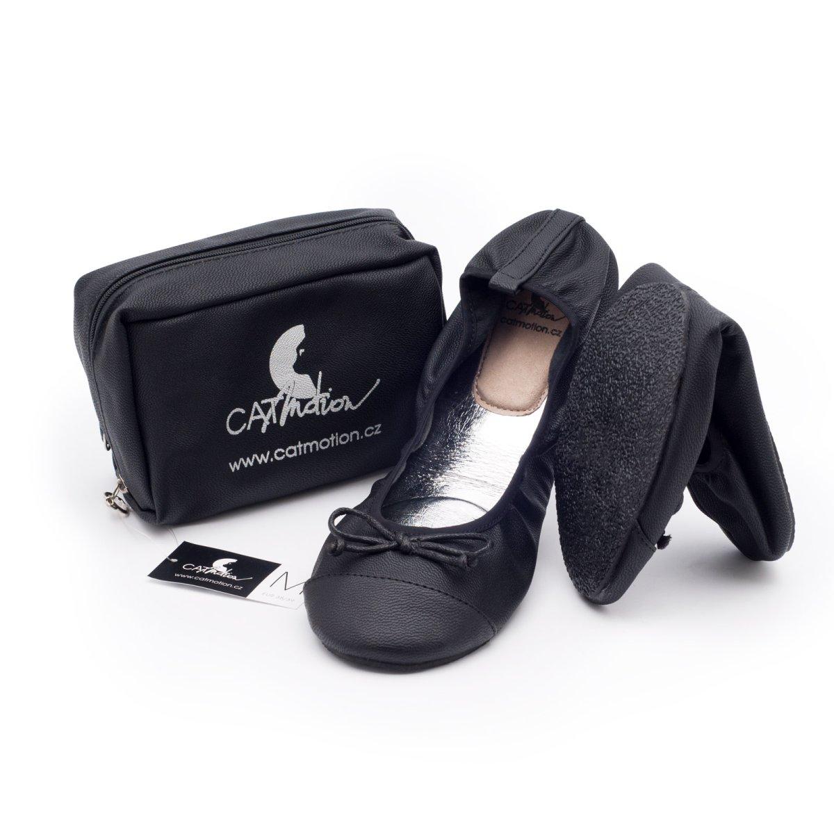 CatMotion skládací baleríny do kabelky Elegance Velikost S (36, 37), 24 cm