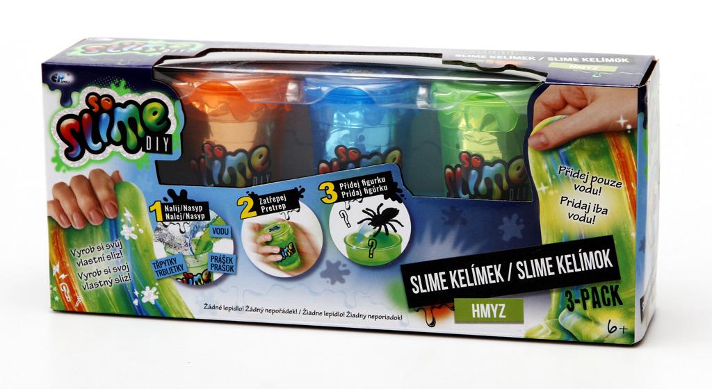 Slime 3 pack pro kluky