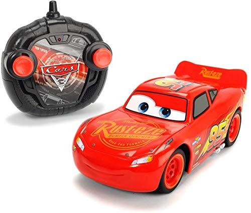 Dickie RC Cars 3 Turbo Racer Blesk McQueen 1:24, 17cm