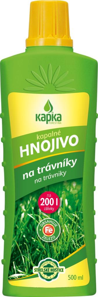 Hnojivo KAPKA na trávníky 500ml