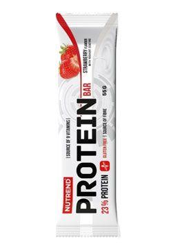 Nutrend Protein Bar jahoda 55g