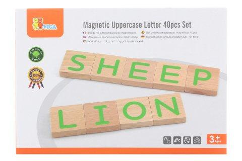 Drevená magnetická písmená