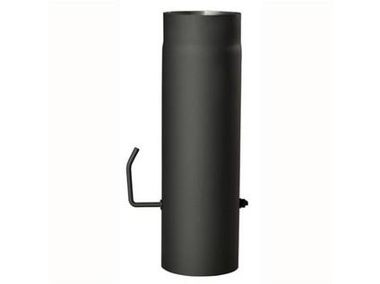 roura kouřová s klap.200mm/ 500 t.1,5mm ČER