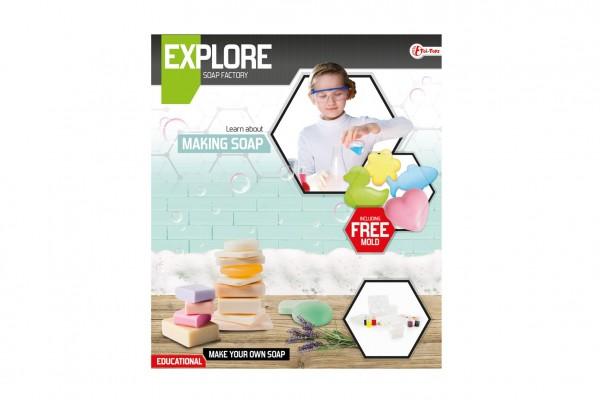 Výroba mýdla vědecká hra s formičkami