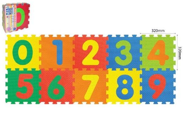 Pěnové puzzle Číslice 10m+