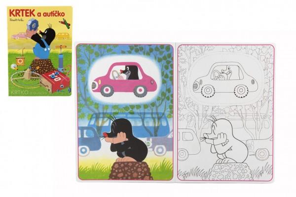 Maľovanky Krtko a autíčko A4