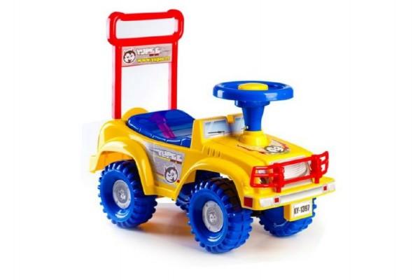 Odrážedlo auto žluté