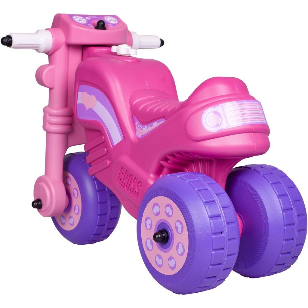 Odrážedlo Cross Bike růžové
