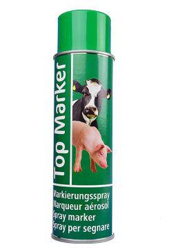 Spray značkovací Top marker 500ml zelený