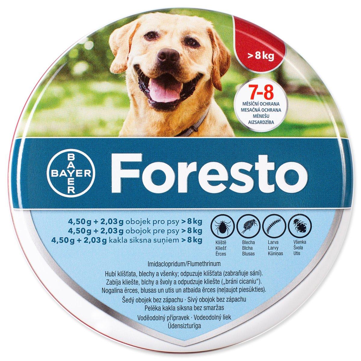 Obojek BAYER Foresto pro psy 70 cm (1ks)