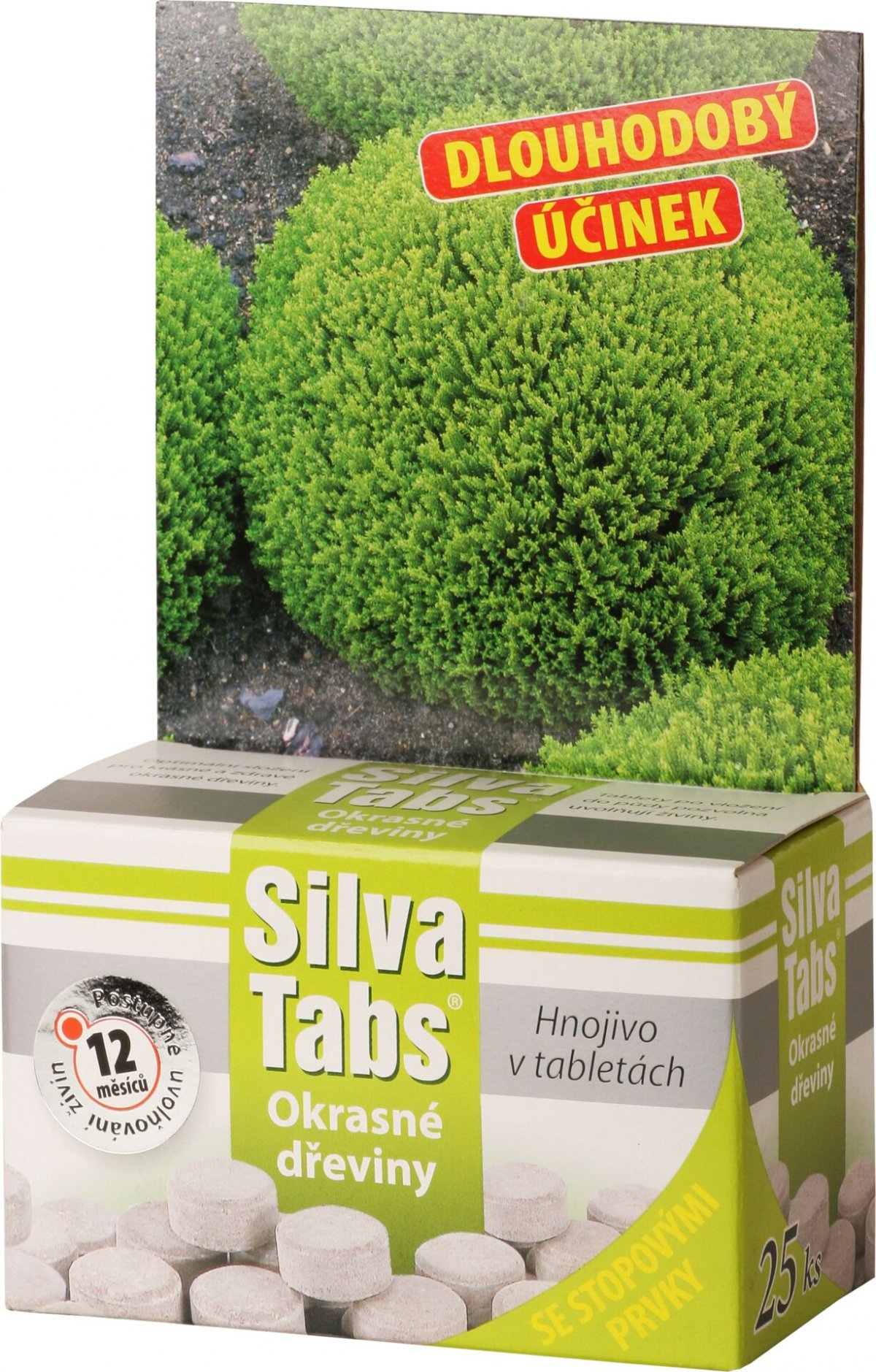 SilvaTabs - tablety na okrasné dřeviny 25 ks