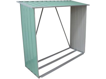 přístřešek na dřevo 146x54x150cm plech ZE