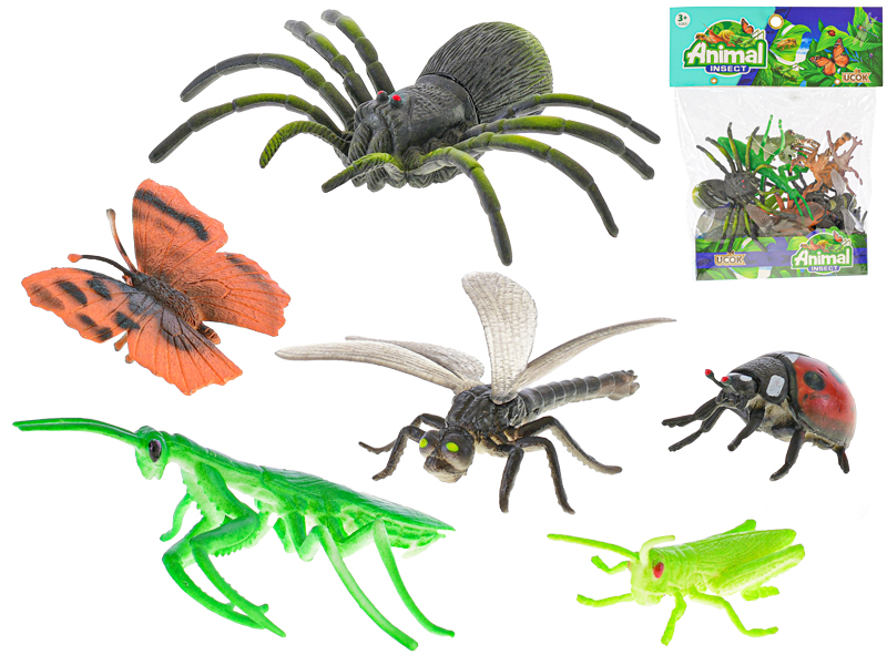Hmyz 5-12 cm 12 ks